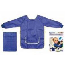Idena Sortulet lucru manual albastru  7-8 ani + protectie masa 100*70cm