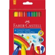 FABER CASTELL Carioca JUMBO set 6 culori
